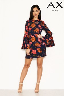 AX Paris Bell Sleeve Floral Dress