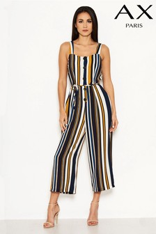 AX Paris Colour Block Stripe Jumpsuit