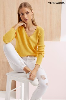 Vero Moda Long Sleeve V neck Jumper