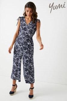 Yumi Printed Jumpsuit