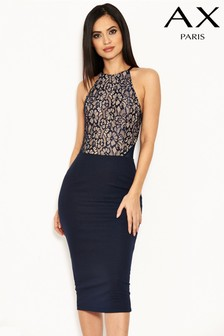 AX Paris 2-In-1 Lace Bodycon Dress