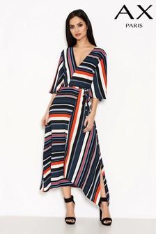 AX Paris Striped Colour Block Dress