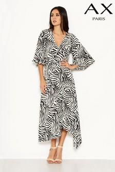 AX Paris Animal Print Midi Dress