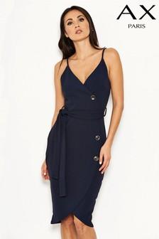 AX Paris Wrap Button Front Dress