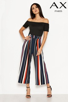 AX Paris 2-In-1 Stripe Jumpsuit