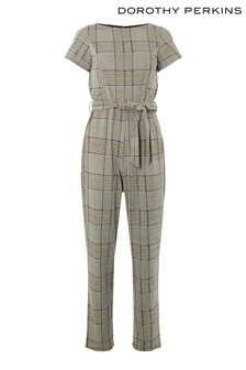 Dorothy Perkins Check Denver Jumpsuit