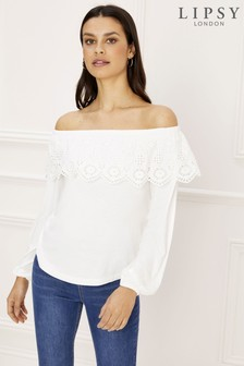 5a968dd1f67635 Buy Women s tops Tops Ruffle Ruffle Lipsy Lipsy from the Next UK ...