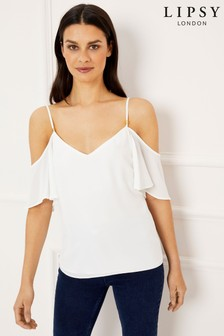 Lipsy Cold Shoulder Cami Top