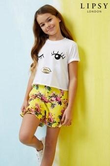 Lipsy Girl Floral Shorts