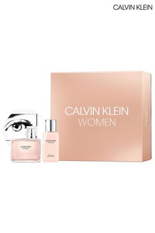 Calvin Klein Women Eau de Parfum 100ml & Body Lotion 100ml Gift Set