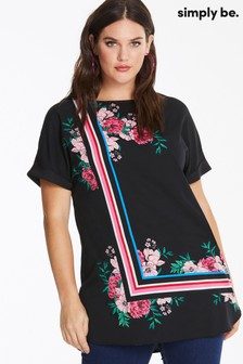 Simply Be Longline Boxy Tunic Top