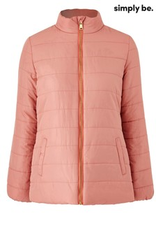Simply Be Curve Padded Jacket