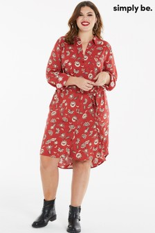 Simply Be Midi Shirt Dress