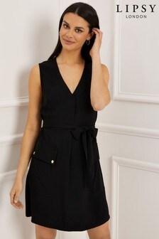 Lipsy Patch Pocket Shift Dress