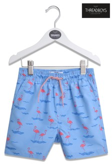 Threadboys Flamingo Swim Shorts