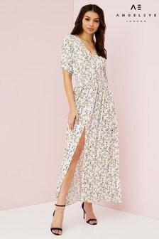 Angeleye Vintage Floral Maxi Dress