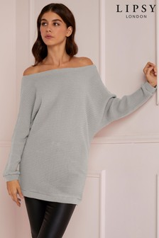 a06ba51e89dc02 Womens Grey Jumpers | Ladies Grey Stripe & Printed Jumpers | Next
