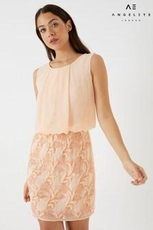 Vestido estilo blusa con adornos de Angeleye