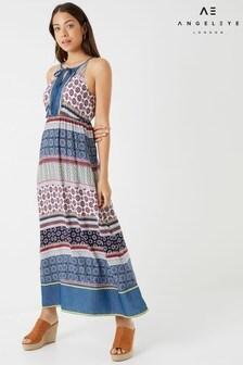 Angeleye Printed Maxi Dress