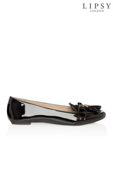 Lipsy Patent Trim Loafers