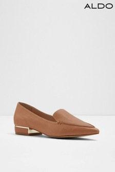 Aldo Leather Pointed Toe Shoe