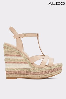 Aldo High Wedge Strappy Sandals