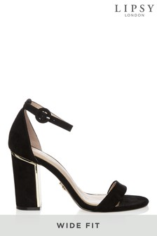 Lipsy Wide Fit Block Heel Sandals
