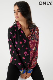 Only Paisley Floral Shirt
