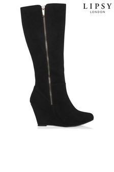 Lipsy Wedge Knee High Boots