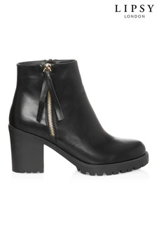 Lipsy Cleated Ankle Boots