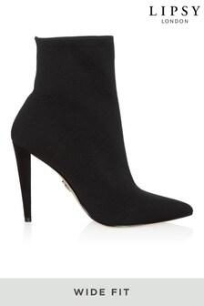 Lipsy寬大剪裁針織襪靴