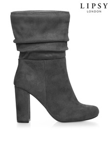 Lipsy Ruched Mid Boots