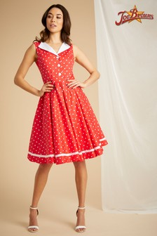 Joe Browns Gepunktetes Vintage-Kleid