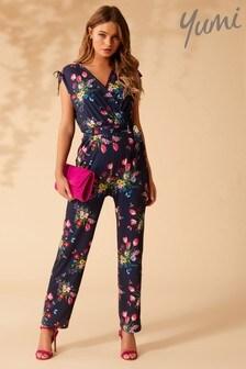 Yumi Bouquet Floral Jumpsuit