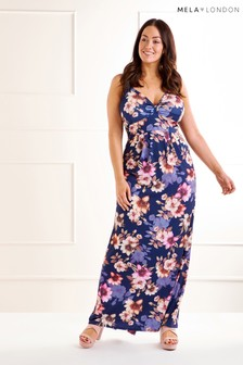 Mela London Curve Maxi Dress