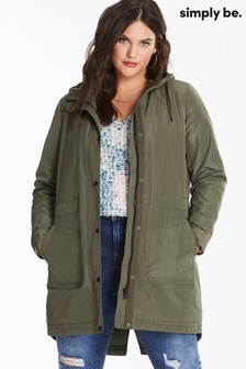 Simply Be Curve Padded Water-Resistant Parka