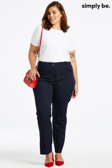 Simply Be Straight Leg Trousers