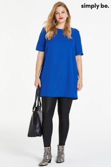 Simply Be Pleated Tunic Blouse