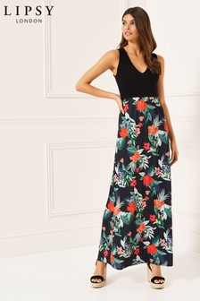 Lipsy 2 In 1 Built Up Maxi Dress