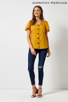 1d085606f643 Buy Women's tops Tops Yellow Yellow Dorothyperkins Dorothyperkins ...