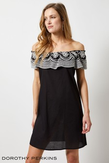 Dorothy Perkins Broderie Frill Dress