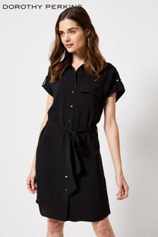 Dorothy Perkins T-Notch Neck Shirt Dress