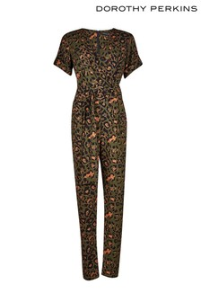 Dorothy Perkins Animal Print Jumpsuit