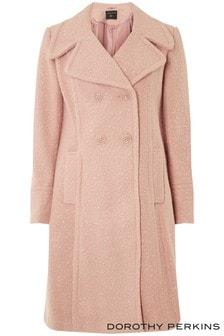 Dorothy Perkins Boucle Midi Coat