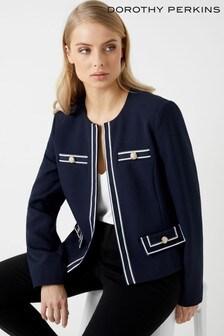 Dorothy Perkins Riviera Trim Boxy Jacket