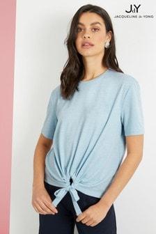 JDY Short Sleeve Cotton Jersey Top