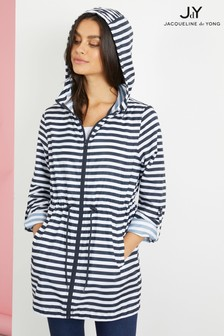 JDY Stripe Parka Jacket