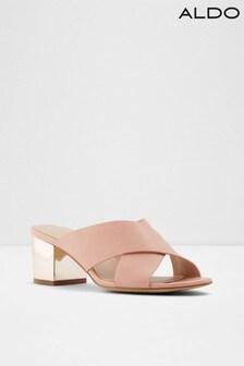 Aldo Mule Leather Sandals