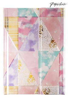 Paperchase A6 Magnetic Pastel Geo Notebook