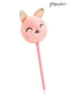 Paperchase Bunny Pom Pom Pen